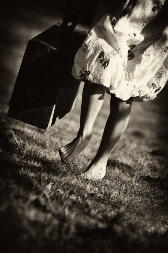 A piece of fine art art photography titled Untitled by Barbara