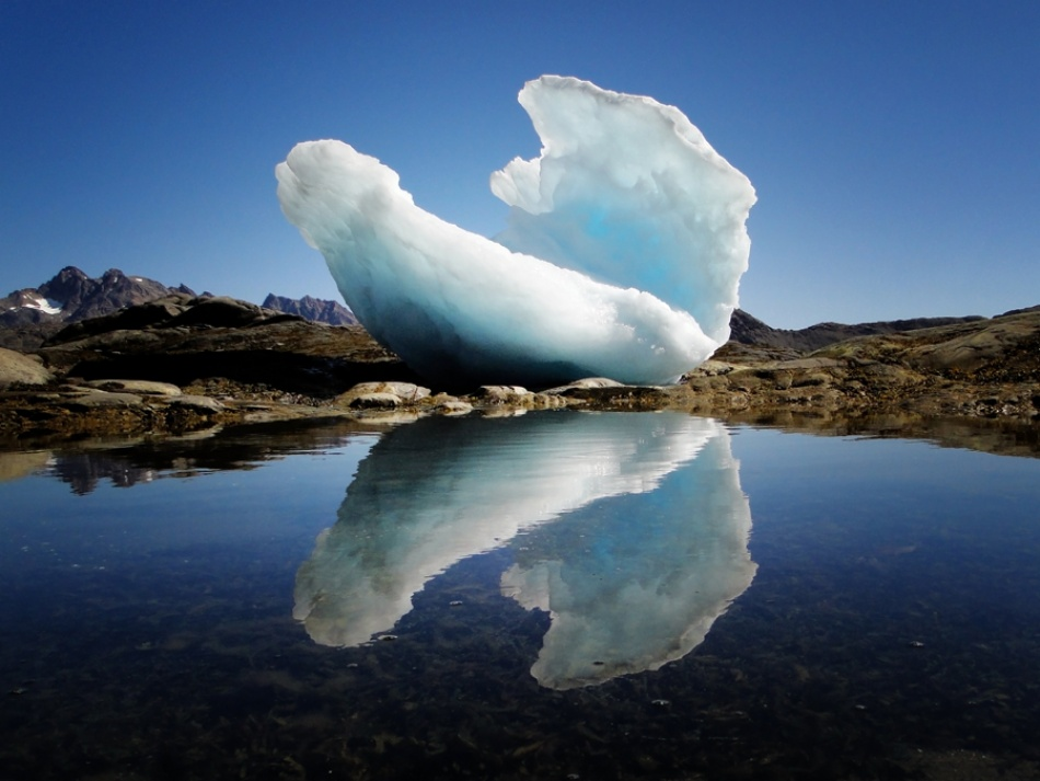 A piece of fine art art photography titled Ice Shell by Frank Daske