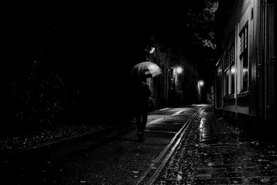 A piece of fine art art photography titled Wanderer by Marcello Della Corte