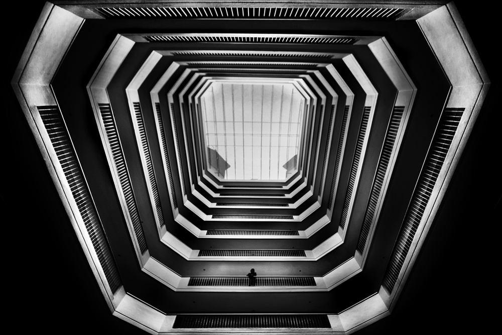 A piece of fine art art photography titled Apartment by Caner Başer