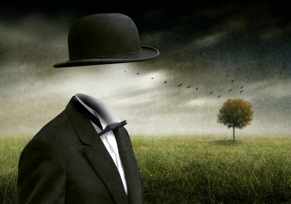A piece of fine art art photography titled I Think, I'm a Dreamer by Ben Goossens
