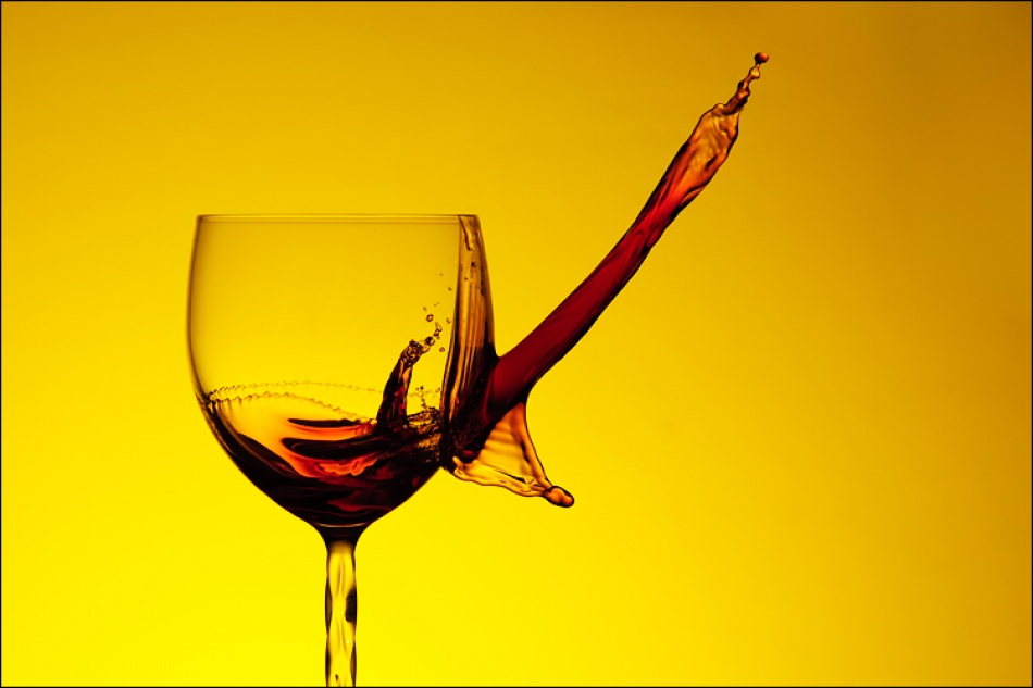 A piece of fine art art photography titled Draw of Wine by Kruno Debenc