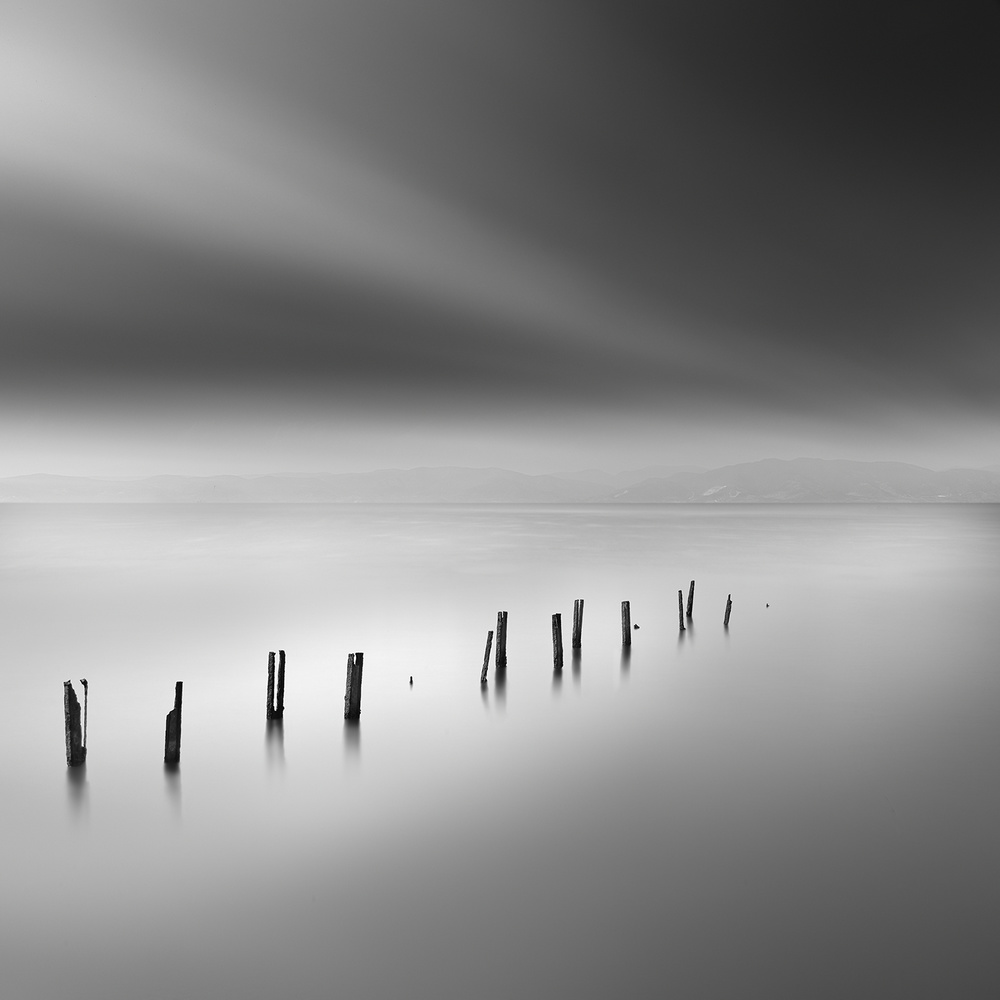 A piece of fine art art photography titled Abandoned Dreams by George Digalakis