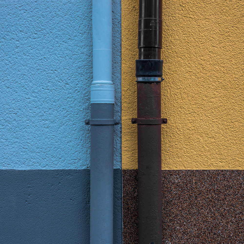 A piece of fine art art photography titled Everyday Facade Art by minimalist