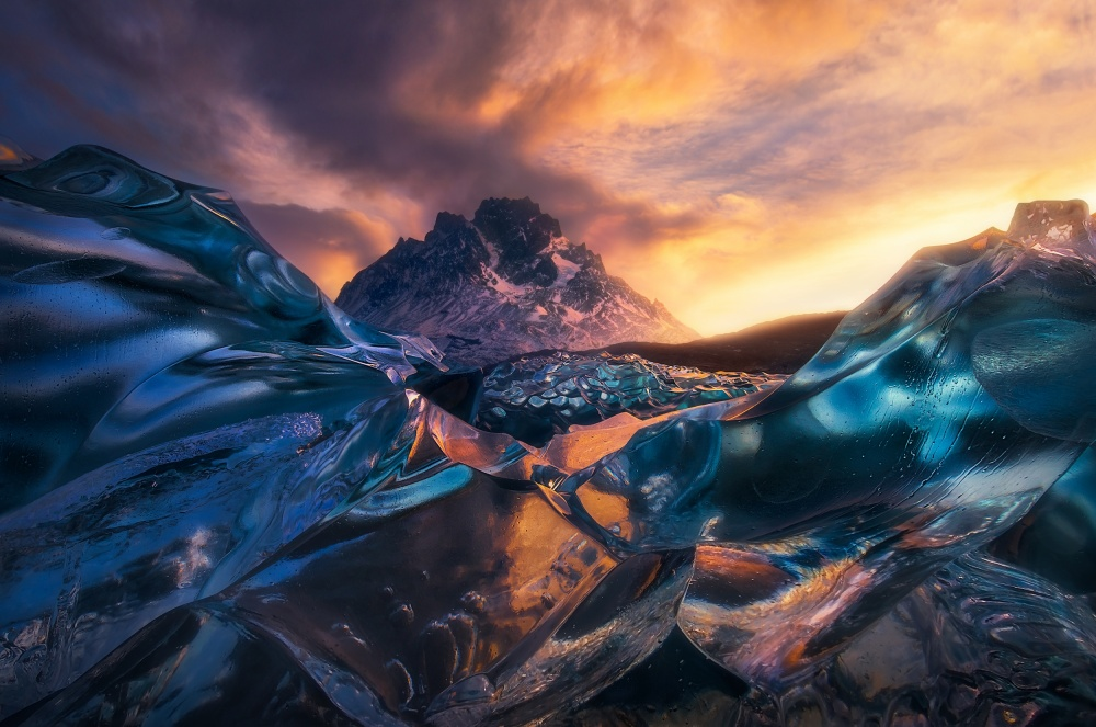 A piece of fine art art photography titled Cool the Flames by Marc Adamus