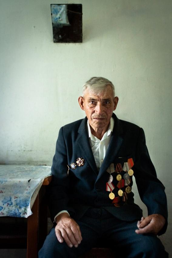 A piece of fine art art photography titled War Veteran by Mitchell Kanashkevich