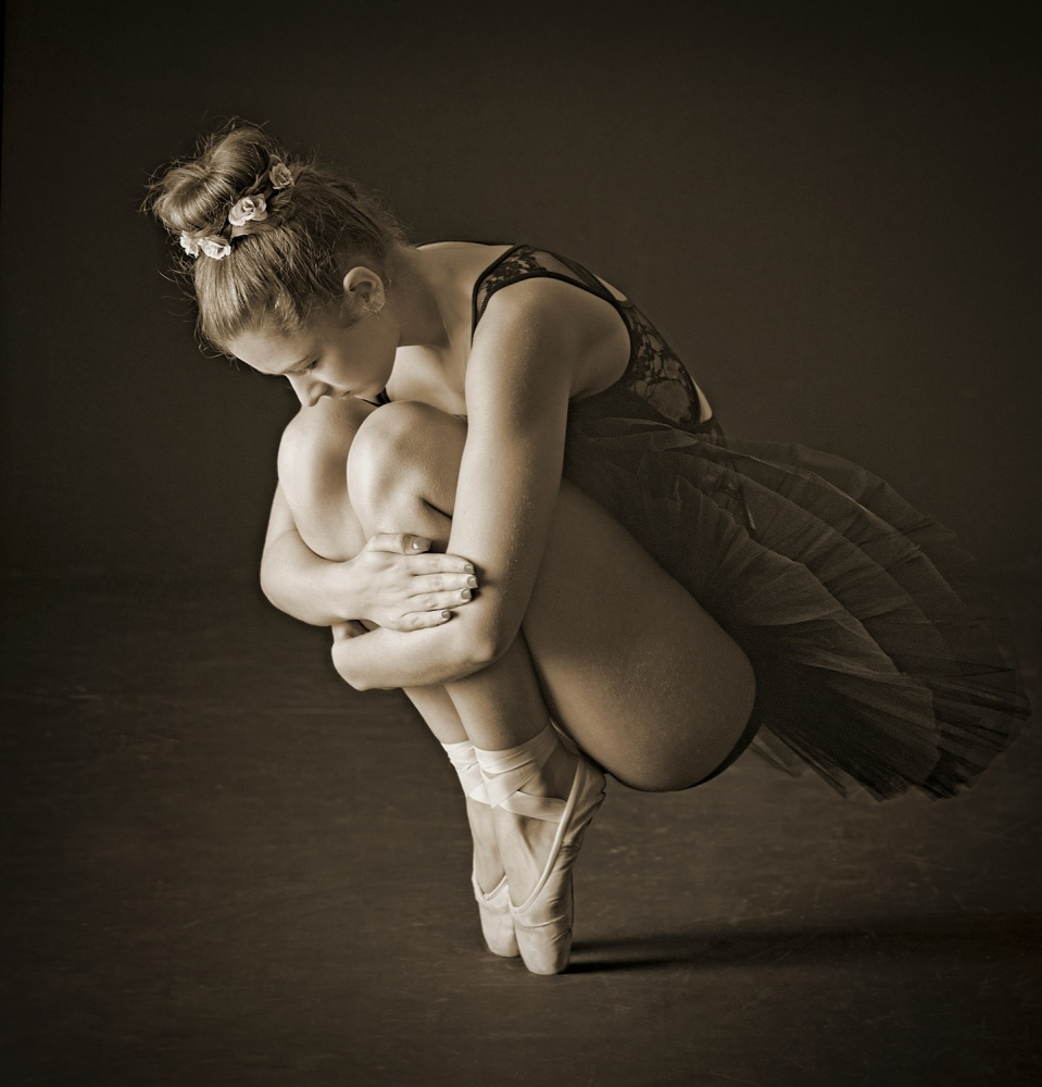 A piece of fine art art photography titled Embrace by Pauline Pentony MA ARPS DPAGB