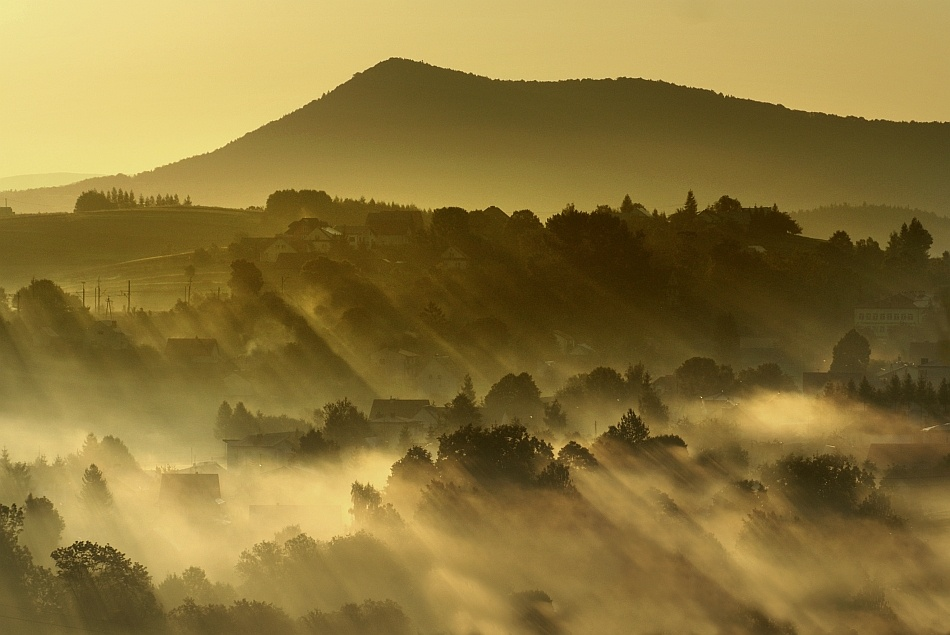 A piece of fine art art photography titled Wakes Up the Next Day by Janusz Wanczyk