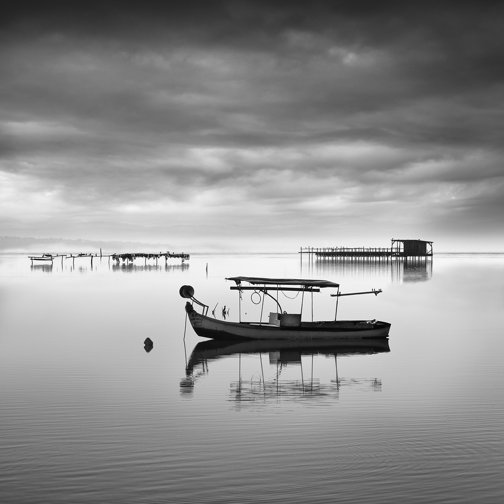 A piece of fine art art photography titled Axios Delta 001 by George Digalakis