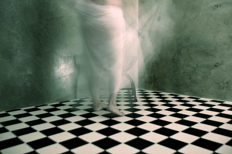 A piece of fine art art photography titled The White by Mel Brackstone