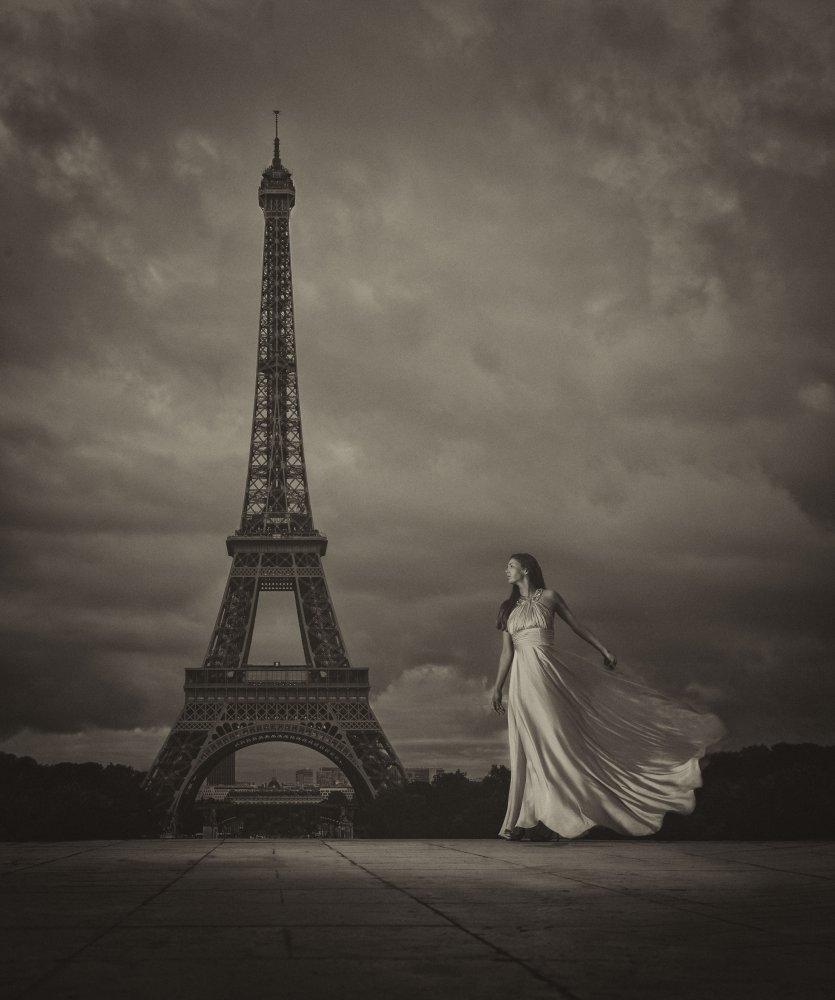 A piece of fine art art photography titled Vive La Liberté by Chris Netton