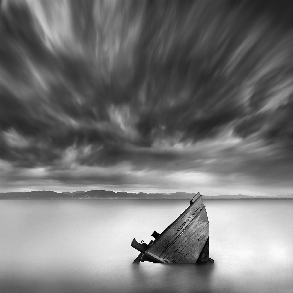 A piece of fine art art photography titled Retired by George Digalakis