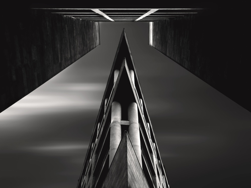 A piece of fine art art photography titled Vanishing Point by Souren  Arslanian