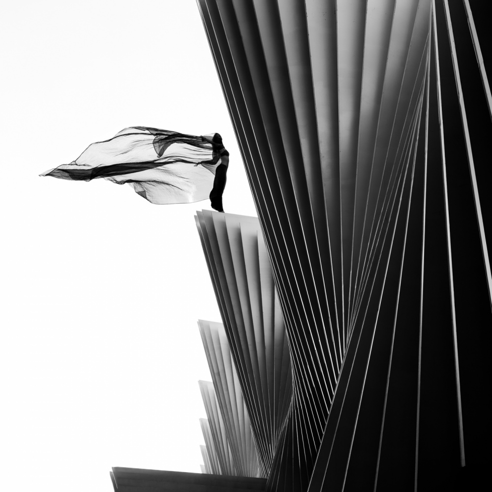 A piece of fine art art photography titled On the Edge by Patrick Odorizzi