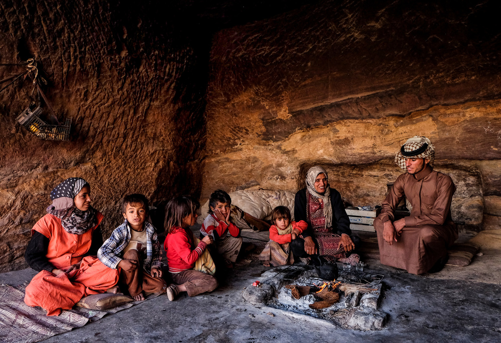A piece of fine art art photography titled Living In the Cave by Andrei Nicolas - The Traveler