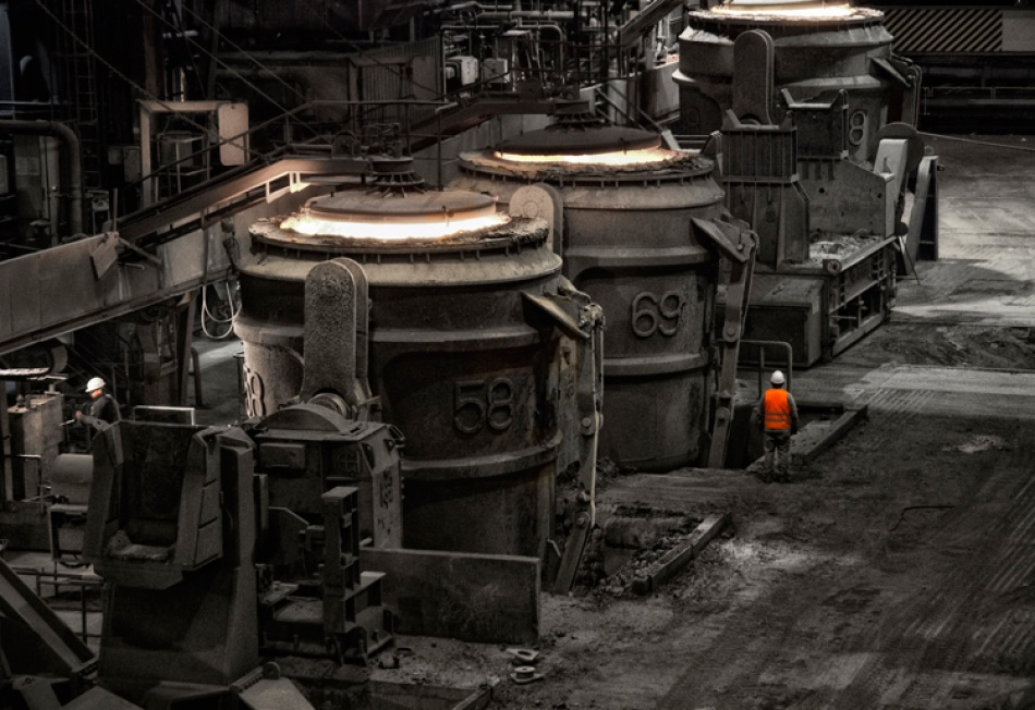 A piece of fine art art photography titled Hard Work by Ruhrpottlady