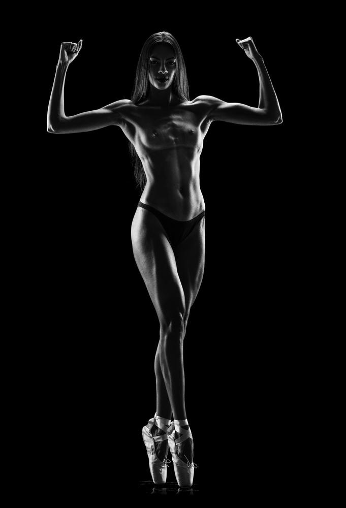 A piece of fine art art photography titled La Ballerina by Jackson Carvalho