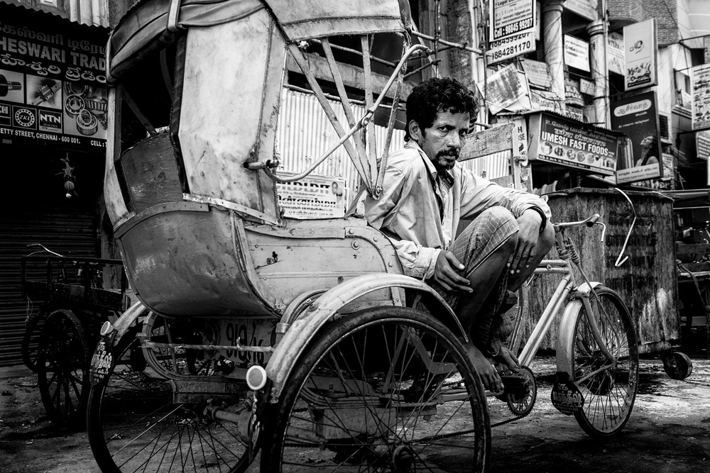 A piece of fine art art photography titled Chennai , India by O-i miyaki