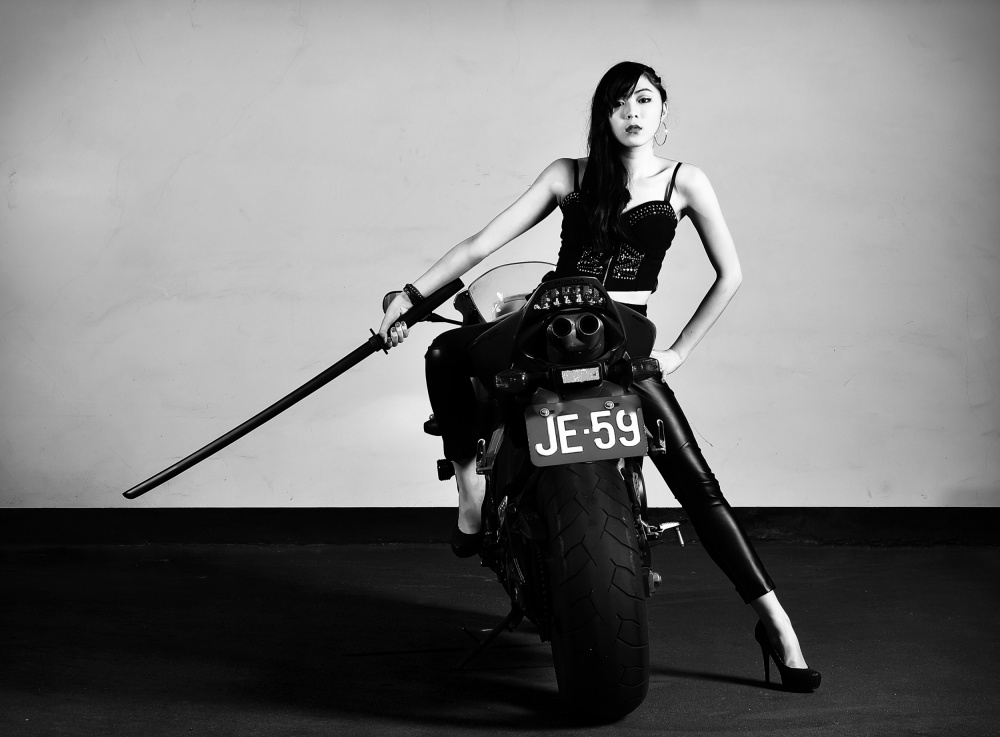 A piece of fine art art photography titled Just Bring It On !!! by 敬昕 涂