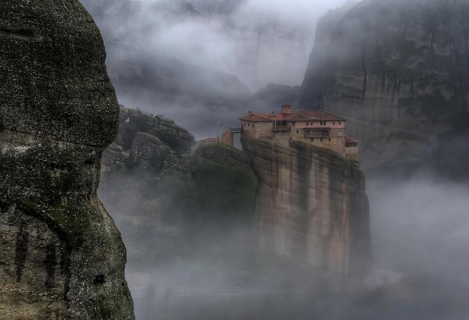 A piece of fine art art photography titled Alone In the Fog by Philip Peynerdjiev - Testmaniac