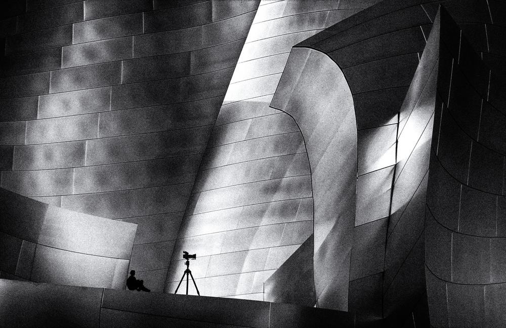 A piece of fine art art photography titled Photographer's Break by Roxana Labagnara