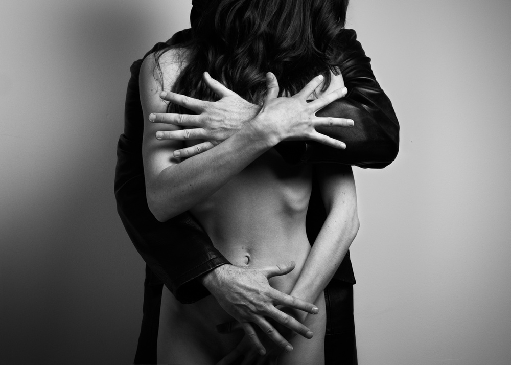 A piece of fine art art photography titled Hands by Frank Gustrau