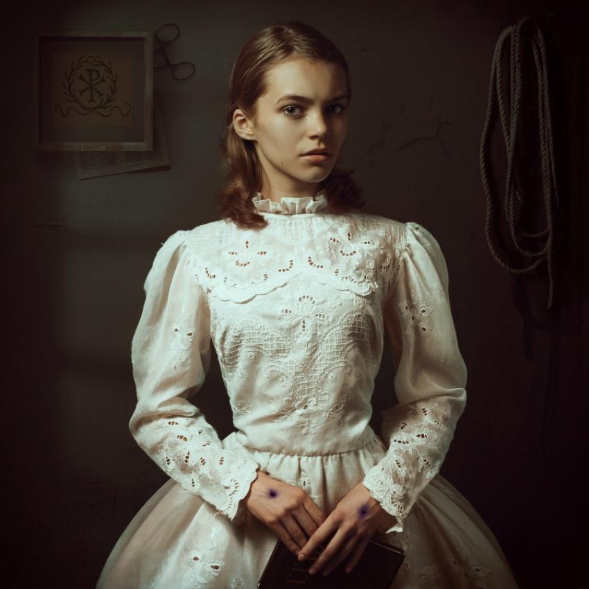 A piece of fine art art photography titled Stigmata by igor_voloshin
