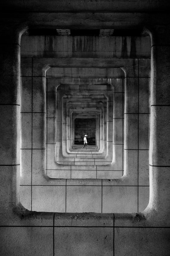 Inside of a frame