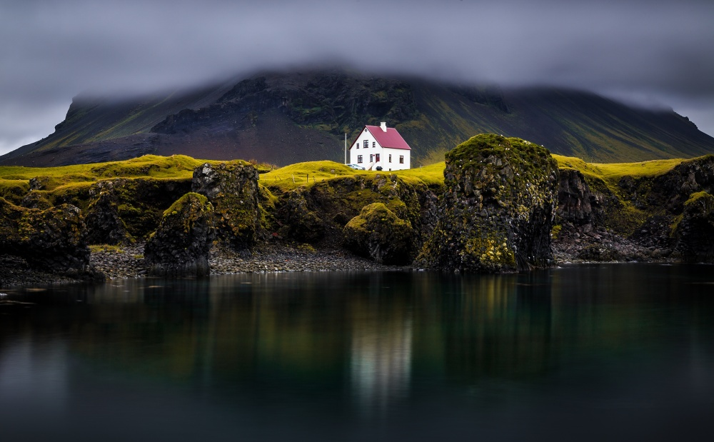 A piece of fine art art photography titled Arnarstapi by Sus Bogaerts