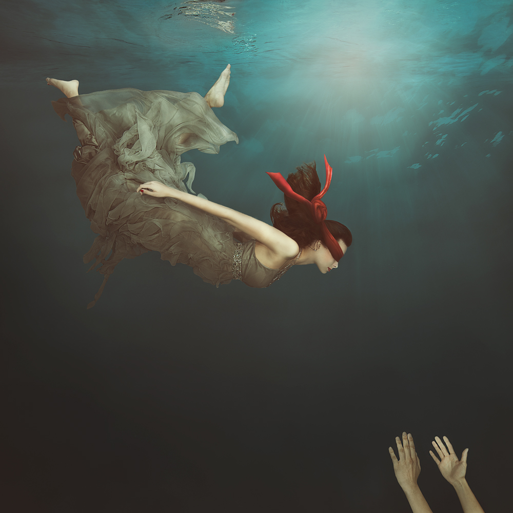 A piece of fine art art photography titled Follow Me by Lucie Drlikova