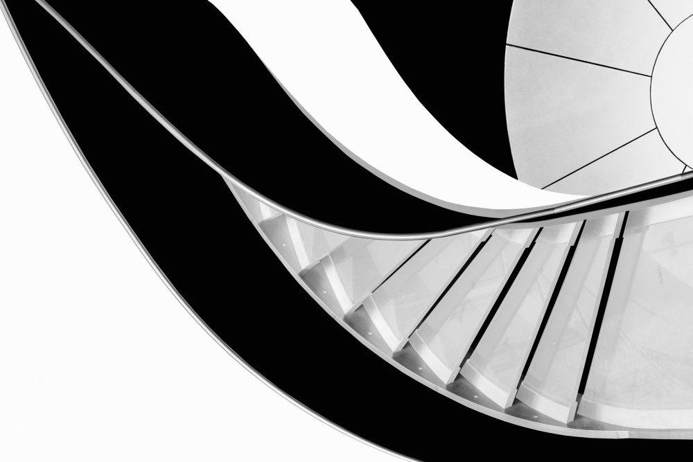 A piece of fine art art photography titled Stairway to Heaven by Rui Correia