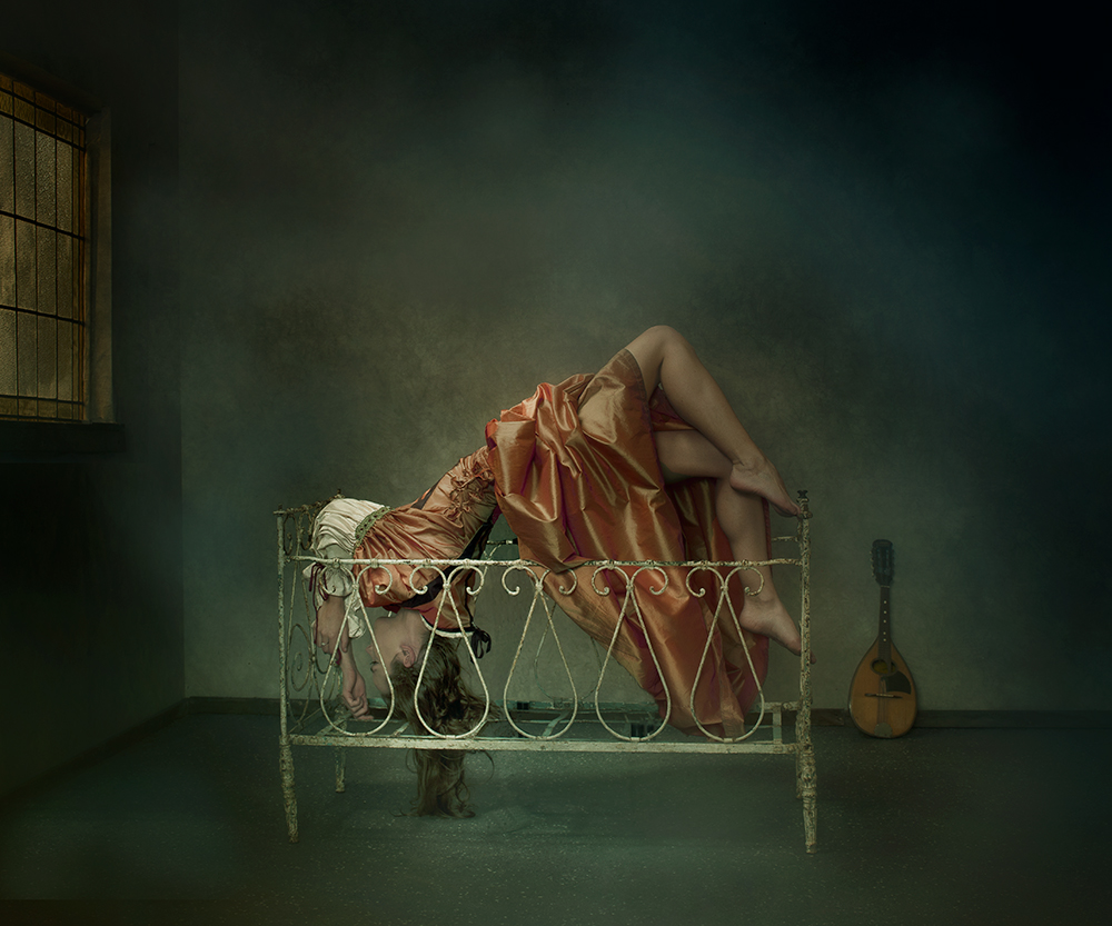 A piece of fine art art photography titled Bed by Peter Kemp