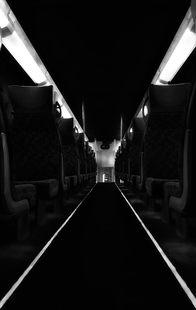 A piece of fine art art photography titled X Cargo by Alex Lu