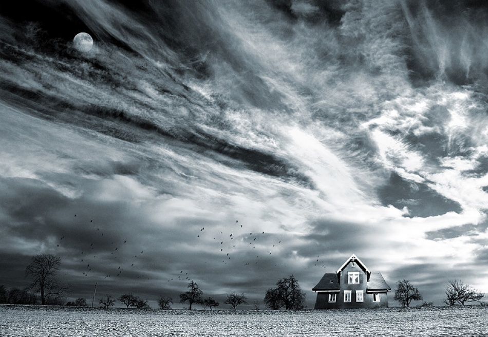 A piece of fine art art photography titled Free Rooms Available by Marin Marinov