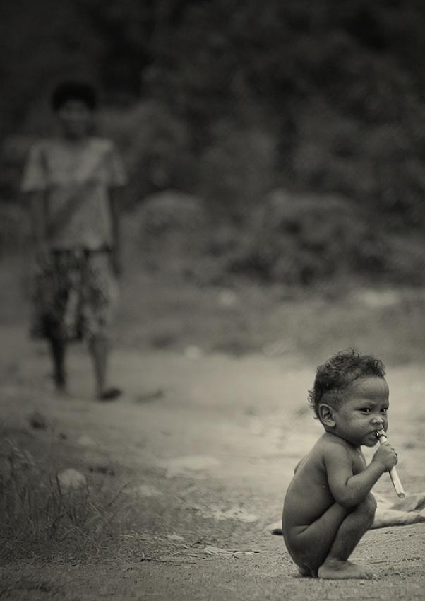 A piece of fine art art photography titled Saving Grace by Paul Quiambao