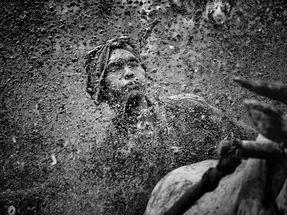 A piece of fine art art photography titled The Rider by Gunarto Song