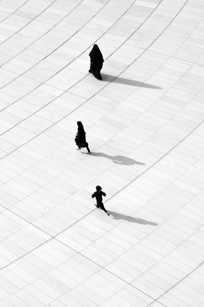 A piece of fine art art photography titled Steps of Life by Ammar alamir