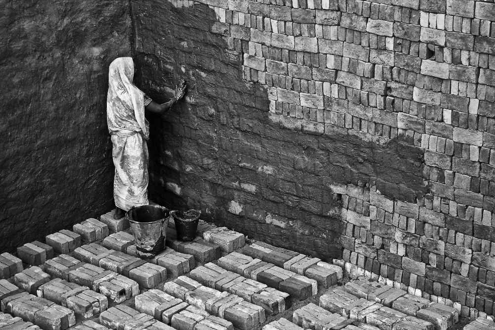 A story of a mother & her unborn bricks