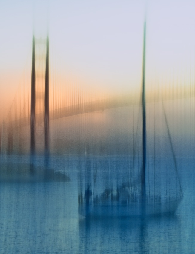 A piece of fine art art photography titled Dock of the Bay by Jerry Berry