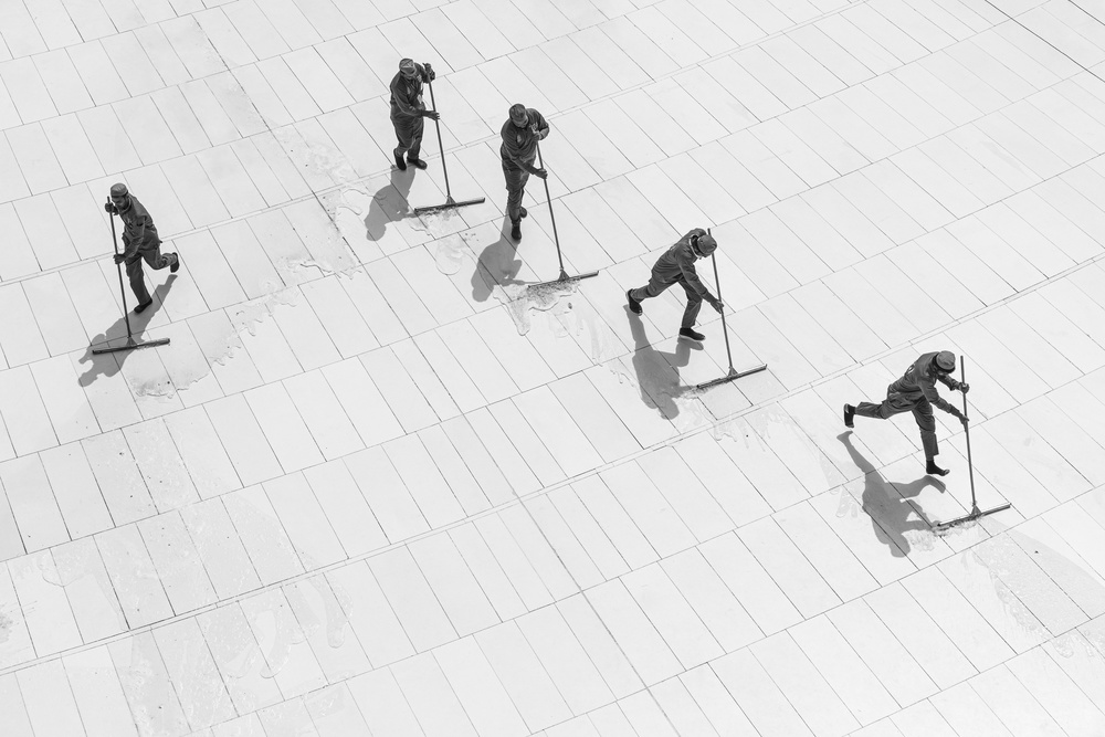 View this piece of fine art photography titled The cleaners by Joxe Inazio Kuesta Garmendia