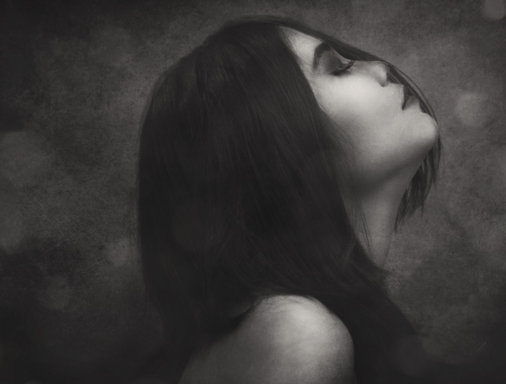 A piece of fine art art photography titled Feel by Ivan Marlianto
