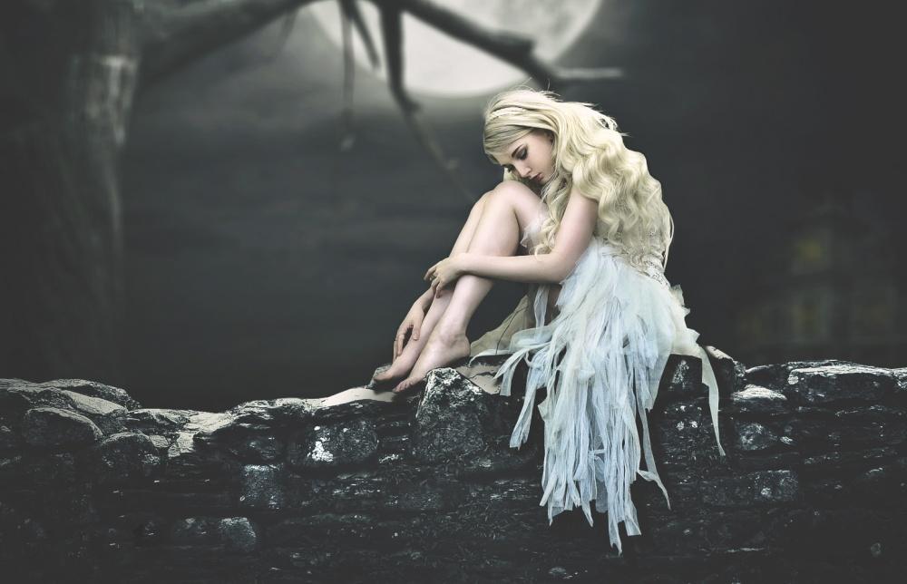 A piece of fine art art photography titled Silence Itself by Putra art