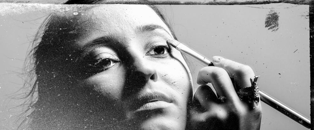 A piece of fine art art photography titled Make Up Artist Series # by Artem Vasilenko
