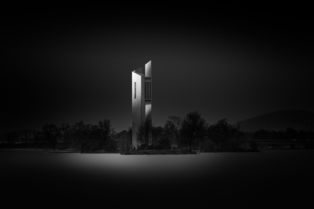 View this piece of fine art photography titled National Carillon by Ahmad Kaddourah