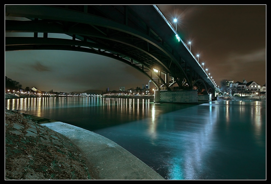 A piece of fine art art photography titled Blue Water by Jens Kling
