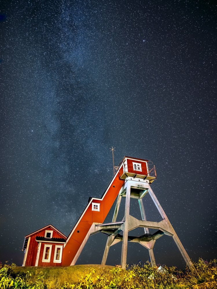A piece of fine art art photography titled Reaching the Sky by Patric Bergkvist