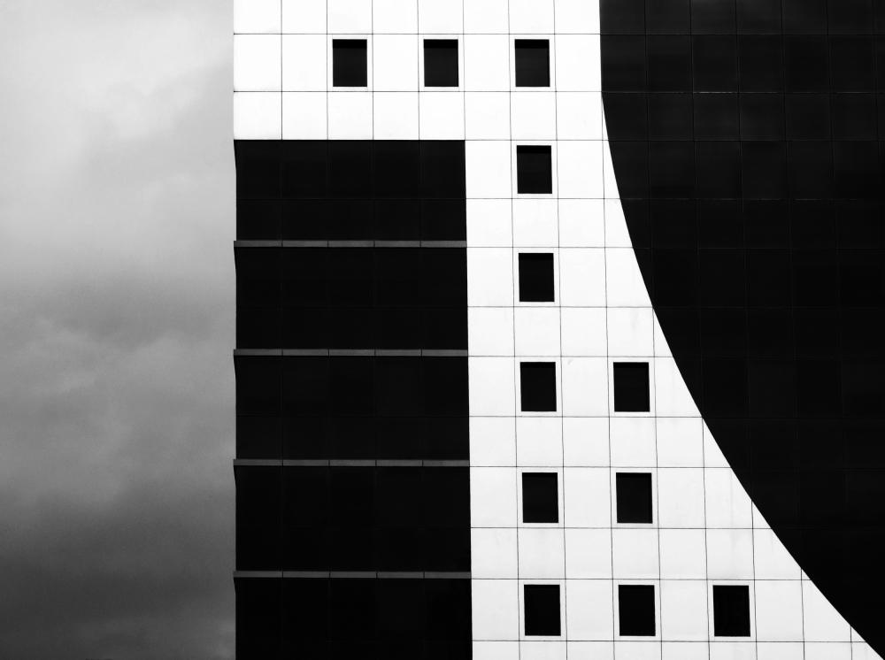 A piece of fine art art photography titled B/w by Mariyan Atanasov