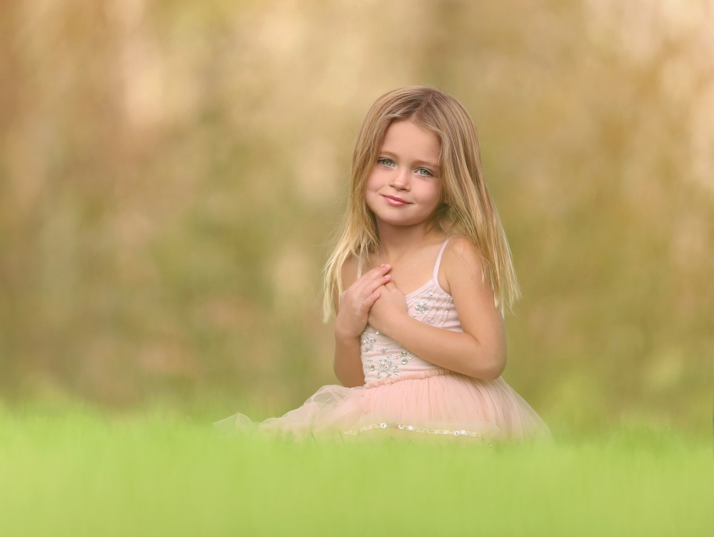 A piece of fine art art photography titled Pure Sweetness by Katie Andelman