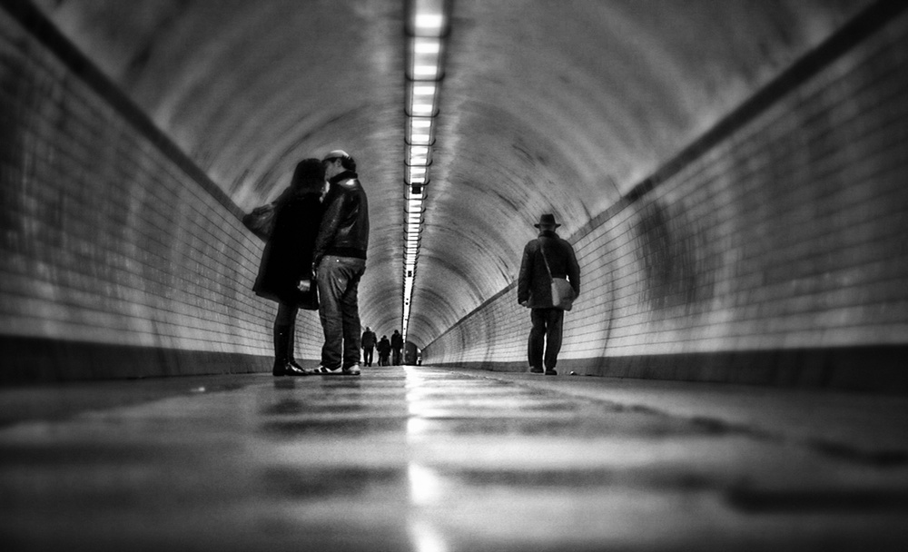A piece of fine art art photography titled Tunnel Vision by Eddy Verloes