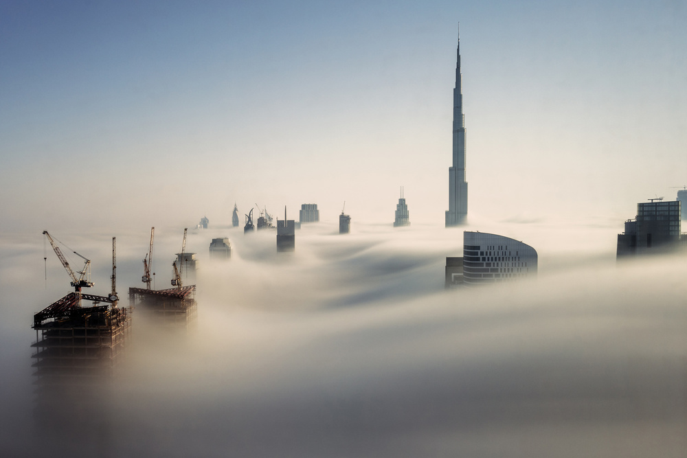 View this piece of fine art photography titled Dubai Sky by Nevrela George